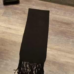 "Coach Scarf 72"" Black"